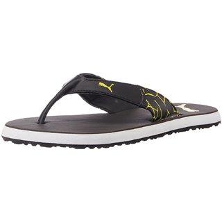30f46532c244 Buy Puma Mens Black Flip Flop (36213002-Black) Online   ₹1499 from ...