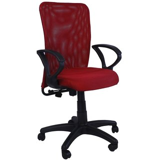 Hunybuni Red Comfort Economic Chair