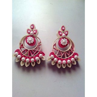 Designers Collection Paper Quilling Earrings For Women
