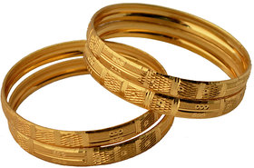 Czar Gold Plated Bangles(BANGLE846)