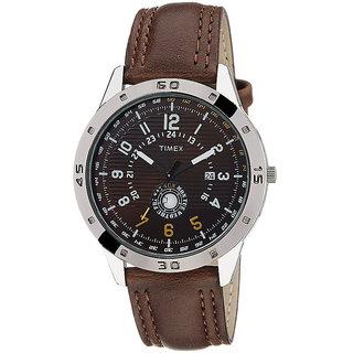 Timex Automatic Brown Round Men Watch TI000U90300