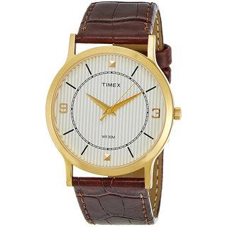 Timex Automatic Brown Round Men Watch TI000R40400