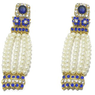 Fashion Pitaraa Elegant Blue Colour Earrings