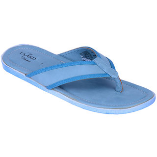 Khadims Lazard Blue Mens Slipper Sandal