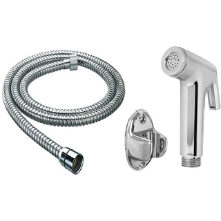 Continental Health Faucet With 1 Meter S.S Tube And Wall Hook-Set Of 1
