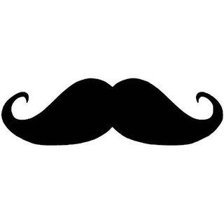 Fast Car Wash Mustache 3D Logo For Car Bumper,Under Tail Light,Doors