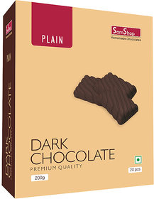 SamShop - Homemade Dark Chocolate 20 pcs 200gms