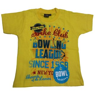 Tomato 28 Yellow T-Shirt For Boys