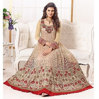 HIT-SAYALI ANARKALI SEMI STICHED SALWAR SUITS - Online Shopping for Salwar Suit