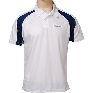 Reebok Men's White Polo