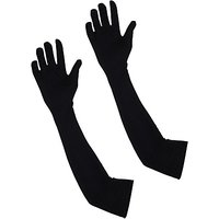 Arm Sleeves Elbow Sleeves Full Hand Cooling Sun Protection Cover Black 1 Pair