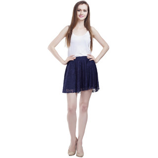 Mansi Collections Solid Womens A-line Skirt