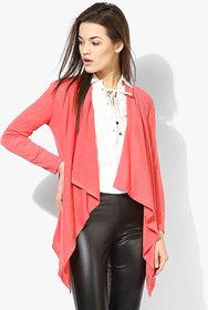 Tshirt Company Pink Poly Cotton Casual Shrug