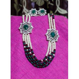 beautiful  brooch necklace set