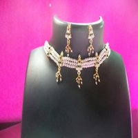 Maharashtrian Traditional Moti Jewellery Chinchpeti