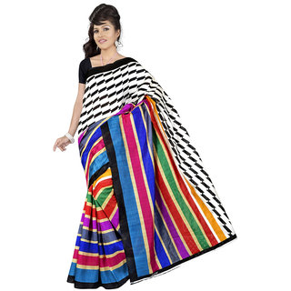 Lovely Look Multi Printed Saree LLKGPS5144
