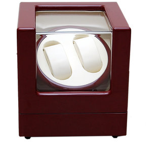Medetai Mover WM001 Maroon Beige Color Watch Winder