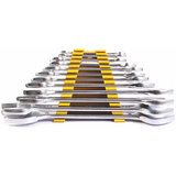 Stanley Spanners - 70-380 Metric Double Open End Spanner Set (12 PC)