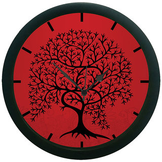 AE World Tree 3D Wall Clock (With Glass)