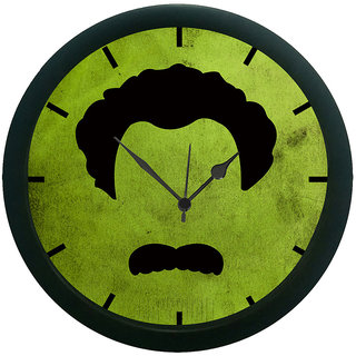 AE World Face Print 3D Wall Clock (With Glass)