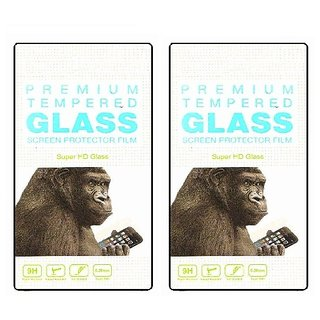 Tempered(PACK OF 2) For Micromax Canvas Selfie Lens Q345