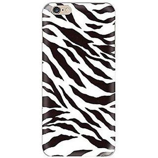 Hamee Grip Back Cover For Apple Iphone 6 Plus, Apple Iphone 6S Plus (Zebra Print Multicolour) Bcd110
