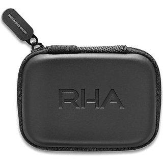 Rha Plastic Zipper Headphone Case (Black)