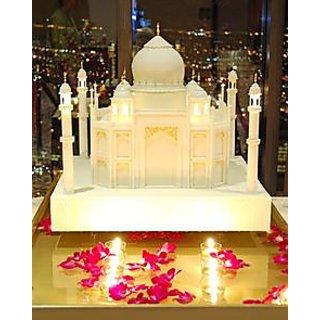 Candle Made Taj Mahal