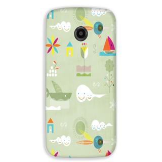 Mott2 Back Cover For Motorola Moto E 2Nd Gen Moto E-2-Hs03 (8) -5318