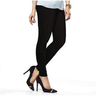 Womens Churidar Legging In Black Colour