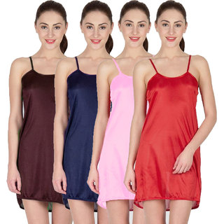 Buy You Forever Solid Multi Combo Nighties Online - Get 50% Off a802a1f51