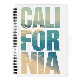 The Fappy Store California-Vintage-Beach-Summer Notebook