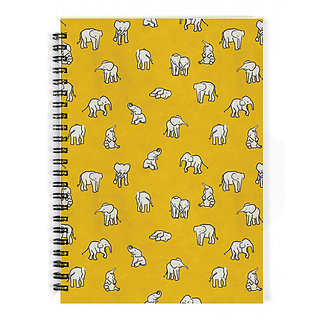 The Fappy Store Indian-Baby-Elephants Notebook
