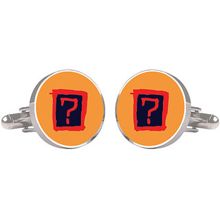 CuffTank Cufflinks Orange