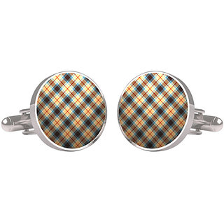 CuffTank Cufflinks Checks