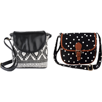 Lychee Bags Emma And Myra Sling Bag