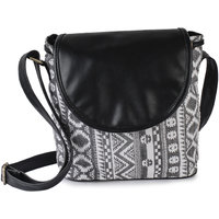Lychee Bags Emma Multi Color Canvas Sling Bag