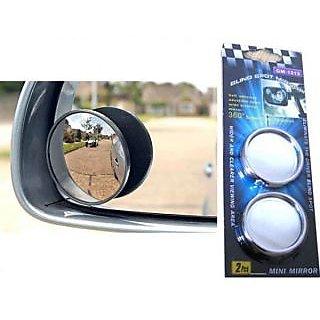 love4ride 1 Pcs Car Blind Spot Rear View Mirror