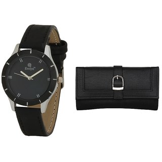 Evelyn Wrist Watch With hand Purse-LBBR-272-019