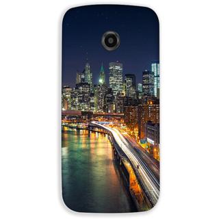 Mott2 Back Cover For Motorola Moto E2 Moto E-2-Hs05 (140) -20967