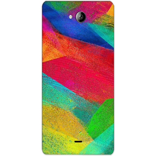 Mott2 Back Cover For Micromax Canvas Play Q355 Micromax Canvas Play Q355-Hs05 (201) -20558