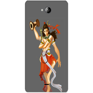 Mott2 Back Cover For Micromax Canvas Play Q355 Micromax Canvas Play Q355-Hs05 (244) -20605