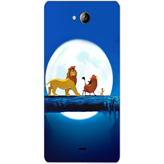 Mott2 Back Cover For Micromax Canvas Play Q355 Micromax Canvas Play Q355-Hs05 (251) -20613