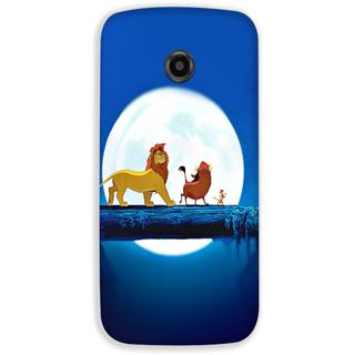 Mott2 Back Cover For Motorola Moto E2 Moto E-2-Hs05 (251) -21089