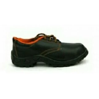 pvc labour black safety shoe with steel toe