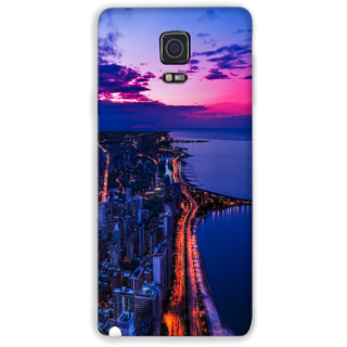 Mott2 Back Cover For Samsung Galaxy Note 4 Samsung Galaxy Note -4-Hs05 (133) -24311