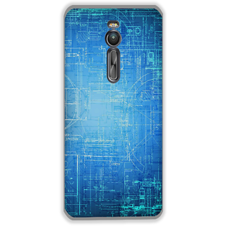 Mott2 Back Cover For Asus Zenfone 2 Zenfone- 2-Hs05 (225) -28729