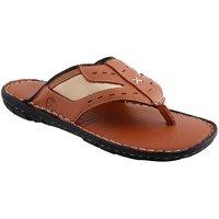 Ventoland MenS Tan Slip-On Sandals (GWVLF-0152)