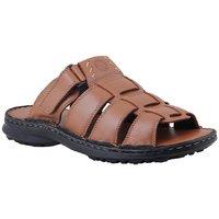 Ventoland MenS Tan Slip-On Sandals (GWVLS-0502)