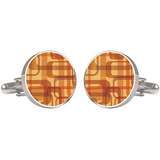 CuffTank Cufflinks Abstract Design